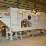 5 wheel specialised peening machine